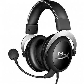 Headset Gamer Hyperx Hx-Hscl-SR/NA Cloud Silver
