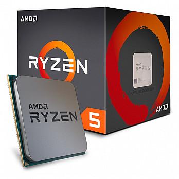 AMD Ryzen 5 1600 c Wraith Spire, Six Core, Cache 19MB, 3.2GHz (Max Turbo 3.6GHz) AM4 - YD1600BBAEBOX