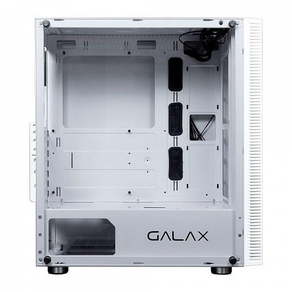 Gabinete Gamer Galax Quasar BRANCO - GX600 WH