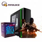 PC GAMER CRAZY - INTEL I3 8100, GT1030 2GB, PLACA MÃE B360M, SSD 120GB, FONTE 500W, 8GB DDR4, GAB. GAMEMAX H602.