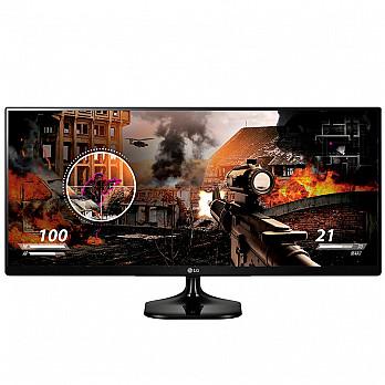 Monitor LG LED 25 - Class 21x9 UltraWide IPS FHD - 25UM58-P AWZ