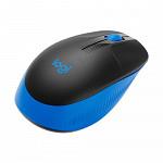 Mouse Sem fio Logitech M190, Azul - 910-005903