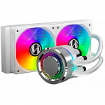 Water Cooler Lian Li, Galahad, RGB 240mm, Intel-AMD, White, GA-240A Branco