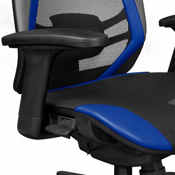 Cadeira Office DT3 Sports Spider Blue - 12058-6