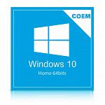 Microsoft Windows 10 Home 64 Bits Português KW9-00154 COEM - DVD