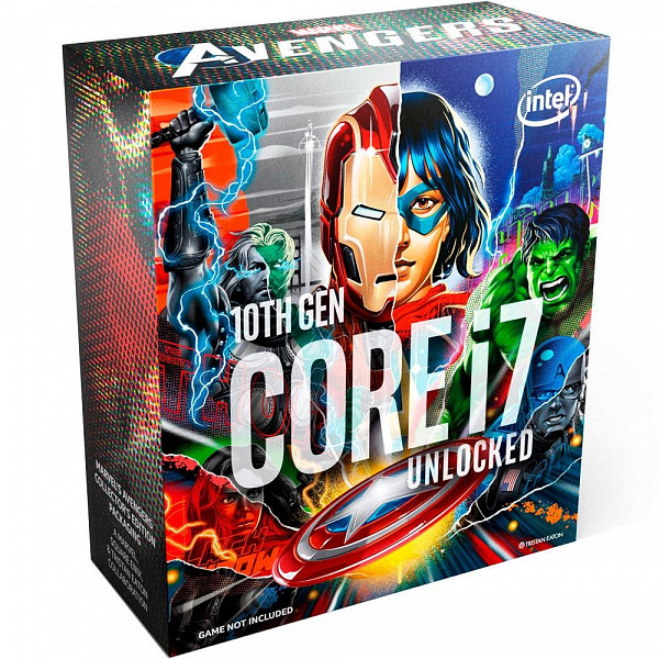 Processador Intel Core i7-10700K Marvel´s Avengers Collector´s Edition Packaging, Cache 16MB, 5.1GHz, LGA1200 - BX8070110700KA