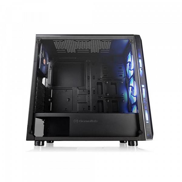 Gabinete Thermaltake Versa J23 Tg RGB/Bk/Win/Spcc/T.Glass*1/Mb Sync - CA-1L6-00M1WN-01*