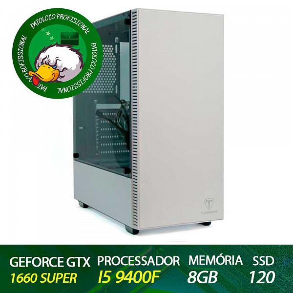 Computador Patoloco (Engenharia) i5 9400F, Gtx 1660 Super, 8GB DDR4, SSD 120
