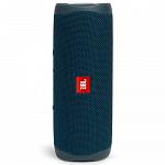 Caixa de Som JBL Flip 5, Bluetooth, 20W RMS, à Prova D´Água, Azul - JBLFLIP5BLU