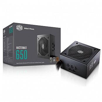 Fonte Cooler Master 650W 80 Plus Bronze Semi-Modular MWE - MPX-6501- AMAAB-WO