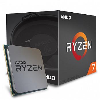 AMD Ryzen 7 1700 c Wraith Spire, Octa Core, Cache 20MB, 3.0GHz (3.7GHz Max Turbo) AM4 YD1700BBAEBOX