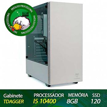 Computador Profissional Odontologia Patoloco- I5 10400, DDR4 08GB, SSD 120