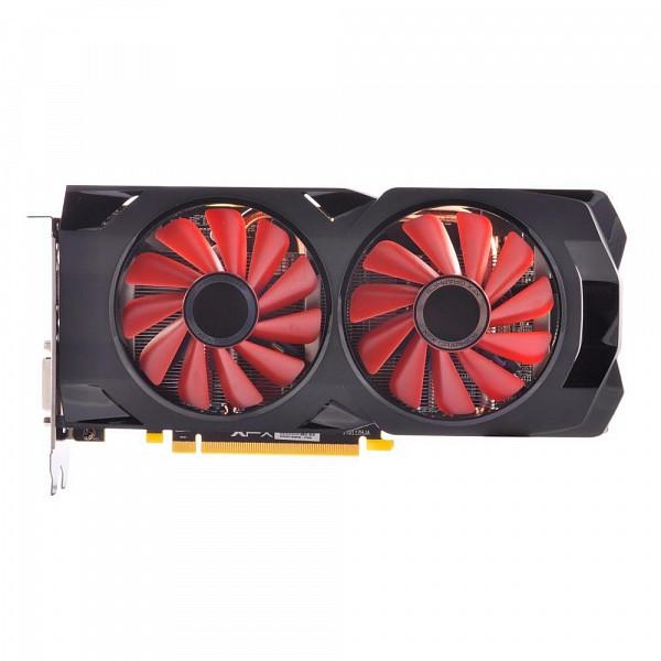 Placa de Vídeo Amd XFX Radeon RX 570 4Gb Rs XXX Ed Oc+ Ddr5 1284Mhz RX-570P4DFD6