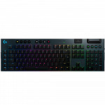 Teclado Sem Fio Mecânico Gamer Logitech G915 Lightspeed, Bluetooth, Design ultrafino, RGB, Switch GL Tactile Marrom, US - 920-008902