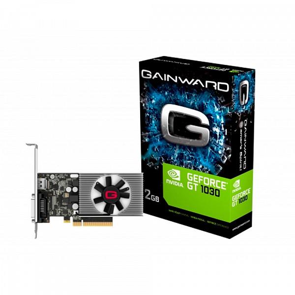Placa de Vídeo Gainward GEFORCE GT 1030 2Gb DDR4 64 Bits - NEC103000646-1082F*