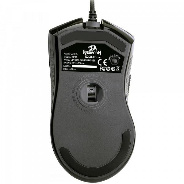 Mouse Gamer Redragon 10000DPI Chroma Cobra M711