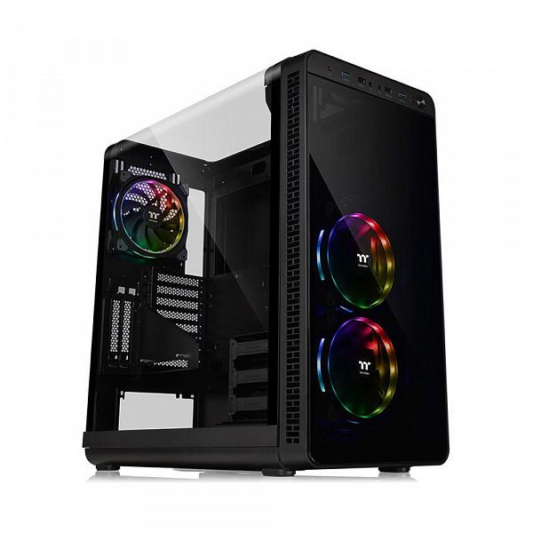 Gabinete Thermaltake View 37 RGB Plus Black Win  CA-1J7-00M1WN-01
