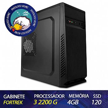 Computador Patoloco (Home) Ryzen 3 2200G, 4GB DDR4, SSD 120