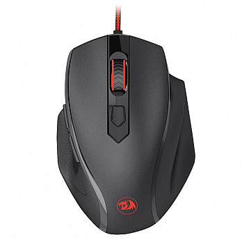 Mouse Gamer Redragon Tiger 2 RGB 3200dpi Com Fio Preto