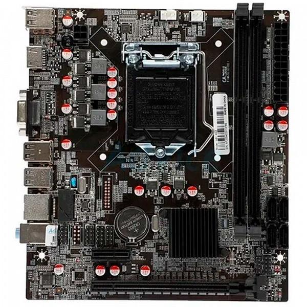 Placa Mãe Afox Ih81-ma6 Chipset H81 Intel Lga 1150 Ddr3 Matx
