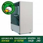 Computador Profissional Odontologia Patoloco - Edição 3Shape - I7 10700, RTX 3070 8GB, DDR4 16GB, SSD 240