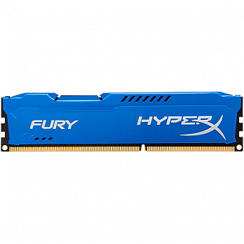 Memória Kingston HyperX FURY 4GB 1866Mhz DDR3 CL10 Blue - HX318C10F-4