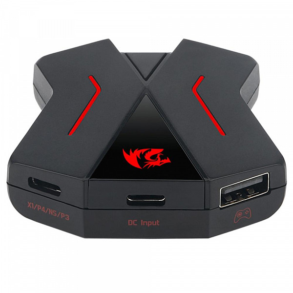 Adaptador de Teclado e Mouse Redragon para Consoles PS4, Xbox One, Nintendo Switch - GA-200