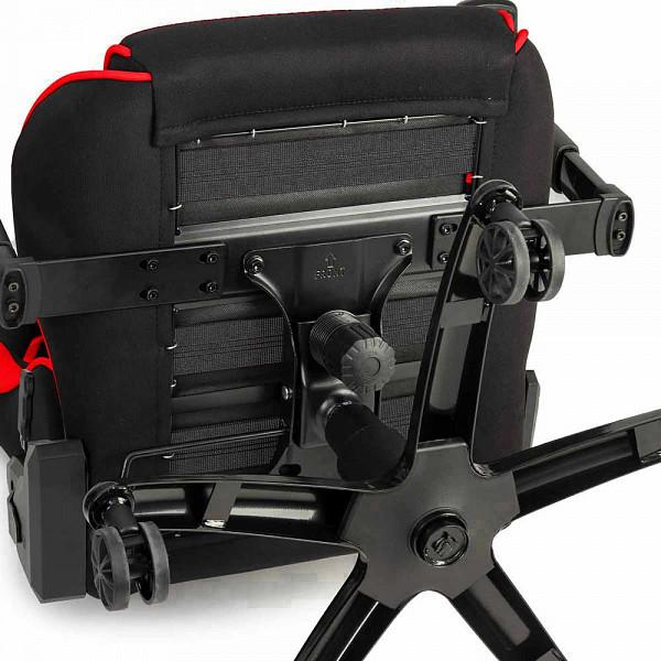 Cadeira Gamer DT3sports Mizano Tecido Red 11361-2