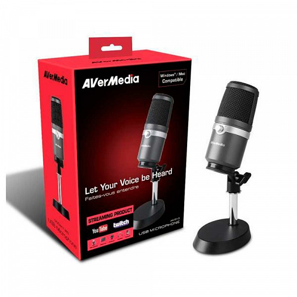 Microfone AVerMedia AM310