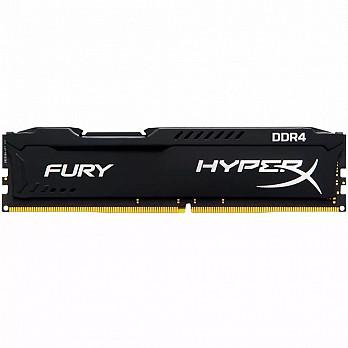 Memória Kingston HyperX FURY 4GB 2400Mhz DDR4 CL15 Black - HX424C15FB-4