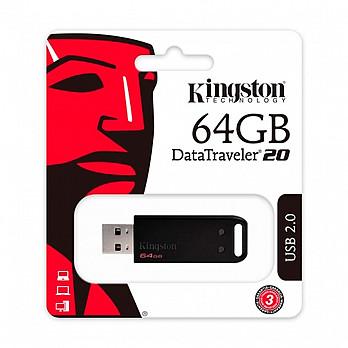 PEN Drive Kingston Datatraveler Dt20 USB 2.0 64gb - Dt20/64gb