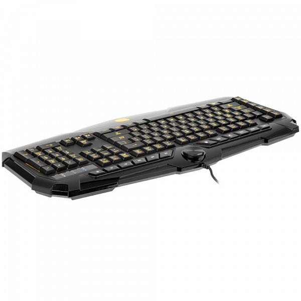 Teclado e Mouse Thermaltake TT Sports Challenger Prime Combo KB-CPC-MBBRPB-01