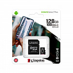 Cartão de Memória Kingston Canvas Select Plus SD Card 128GB Classe 10 UHS-I - SDS2/128GB