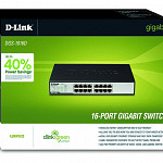 Switch Rack 16 Portas D-Link 10-100-1000Mpbs DGS-1016D