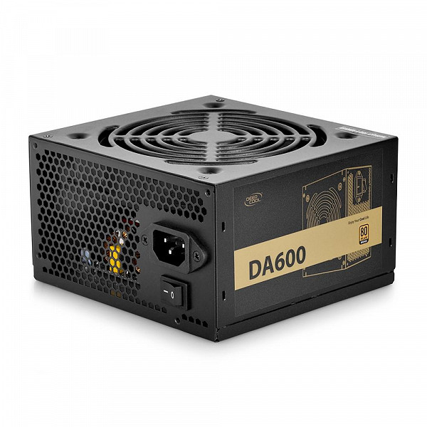 Fonte Deepcool 600W, 80 Plus Bronze - DA600N