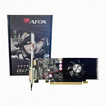 Placa de Vídeo AFOX Geforce GT 1030 2GB GDDR5 DVI HDMI Low Profile 64 Bits - AF1030-2048D5L4