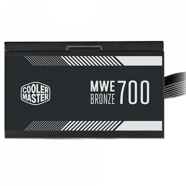 Fonte Cooler Master MWE Bronze V2, 700W, 80 Plus Bronze - MPE-7001-ACAAB-BR