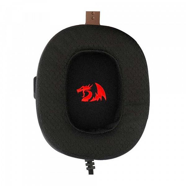 Headset Gamer Redragon Zeus X, USB, 7.1 Surround, RGB, Black