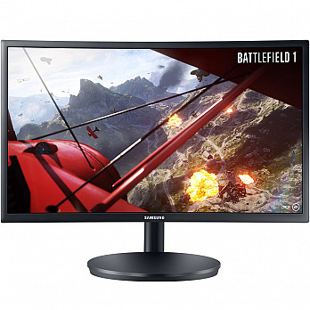 Monitor Gamer Samsung Curvo 24´ Full HD 144Hz - LC24FG70FQLXZD