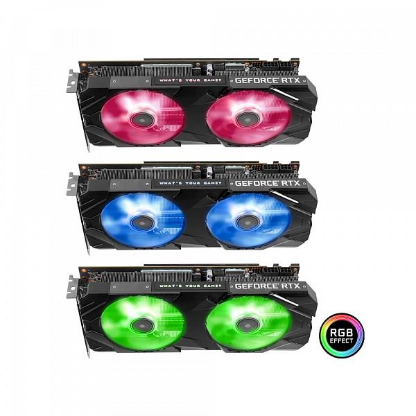 Placa de Vídeo Galax Geforce RTX 2060 Super EX (1-Click OC ) 8GB GDDR6 256 bits - 26ISL6MPX2EX