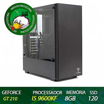 Computador Patoloco (Escritório) i5 9600KF, GT 210, 8GB DDR4, SSD 120