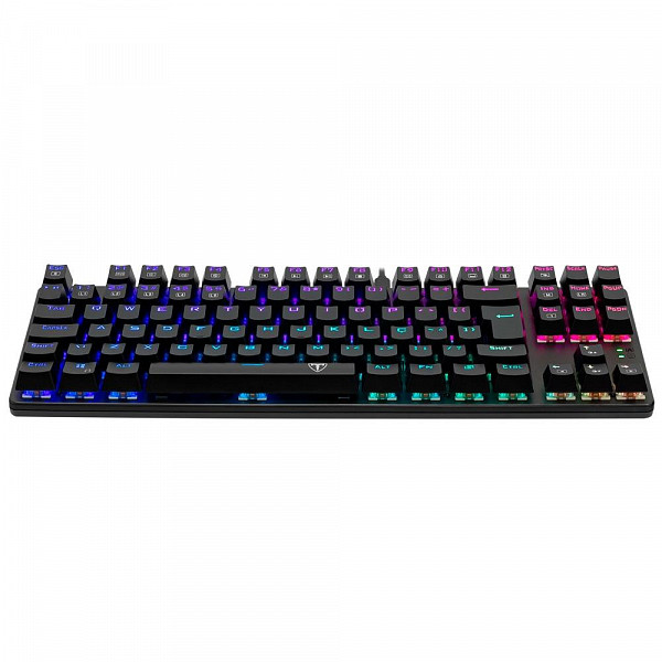Teclado Mecânico Gamer T-Dagger Bora, RGB, Switch Outemu Red, ABNT2 - T-TGK315-RD (PT-RED)