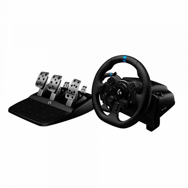 Volante Logitech G923, PS5, PS4, PC com Force Feedback TRUEFORCE - 941-000148