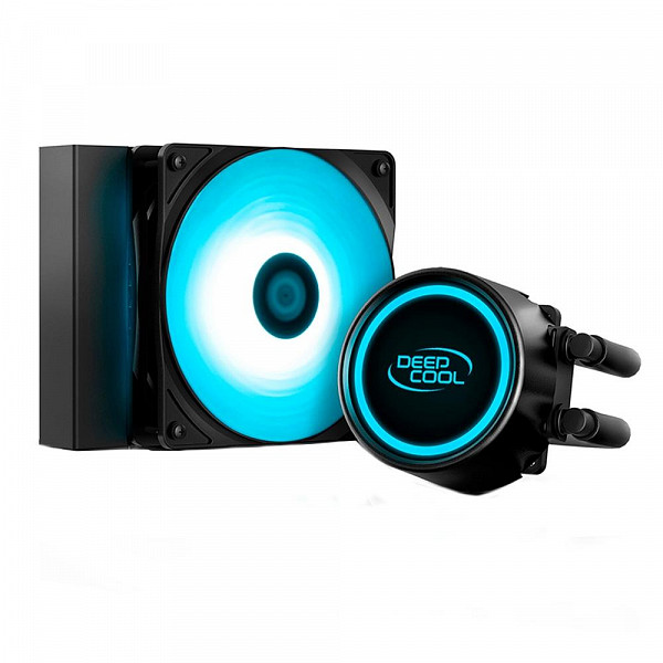 Water Cooler DeepCool Gammaxx L120T Blue, 120mm, LED Azul - GAMMAXX L120T BLUE