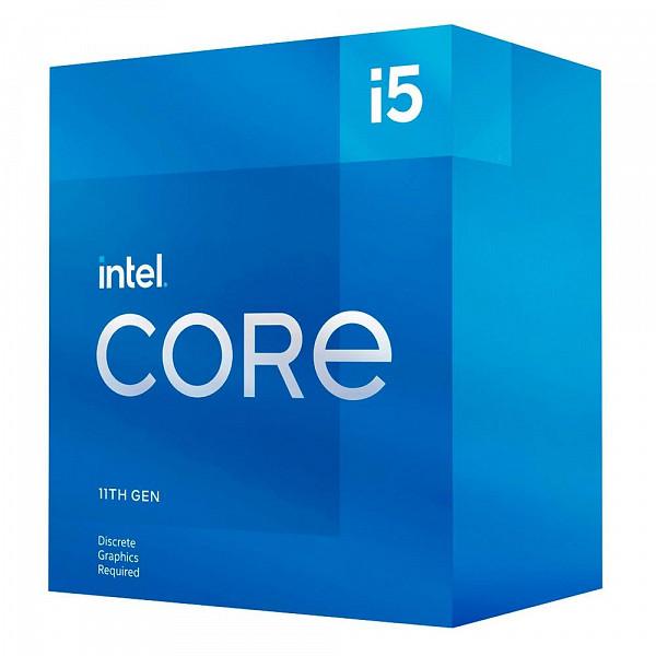 Processador Intel Core i5-11400F 11ª Geração, Cache 12MB, 2.6 GHz (4.4GHz Turbo), LGA1200 - BX8070811400F