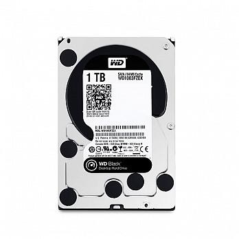 HD WD SATA 3,5´ Black Performance 1TB 7200RPM 64MB Cache SATA 6.0Gb-s - WD1003FZEX