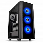 Gabinete Thermaltake Versa J25 Tg RGB/Bk/Win/T.Glass*1/MbSync - CA-1L8-00M1WN-01