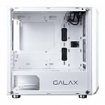 Gabinete Galax Nebulosa Lateral Vidro Temp Branco, GX700 WH